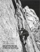 Rock Climbing Photo: A Man amongst Men! From the 1972 AAJ.