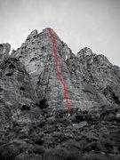 Rock Climbing Photo: The Rocketship, Fifth Canyon