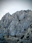 Rock Climbing Photo: The Rocketship (center) and environs, Fifth Canyon