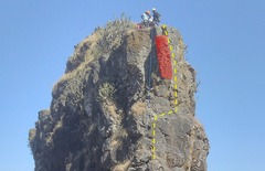 Rock Climbing Photo: Anjaneri Navri Loose boulder