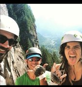 Rock Climbing Photo: Stoked on climbing!
