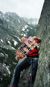 Rock Climbing Photo: Library Ledge, Snow Creek Wall.  Now you know how ...