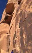 Rock Climbing Photo: Have yourself some loose leaf Redman for this rout...