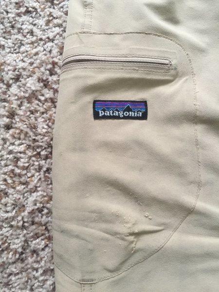 Patagonia Pants - pocket close-up