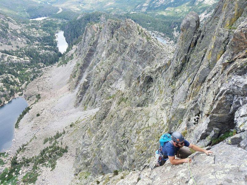 Rock Climbing Photo: Pitch 4?