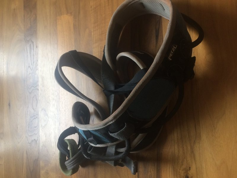 petzl corax harness small/medium $40
