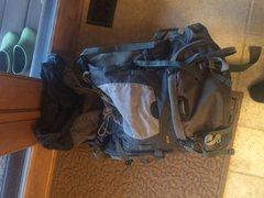 Rock Climbing Photo: mountainsmith 75+ L pack (extends to 90L) $50