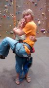 Rock Climbing Photo: Pickin' up guys at the gym