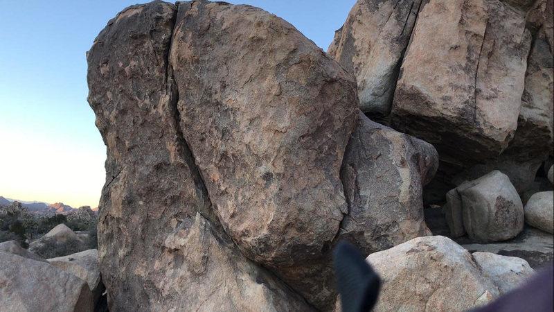 Rock Climbing Photo: Face of the crack