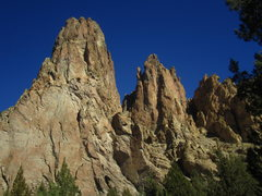 Rock Climbing Photo: The Monument and Anglin's Buttress