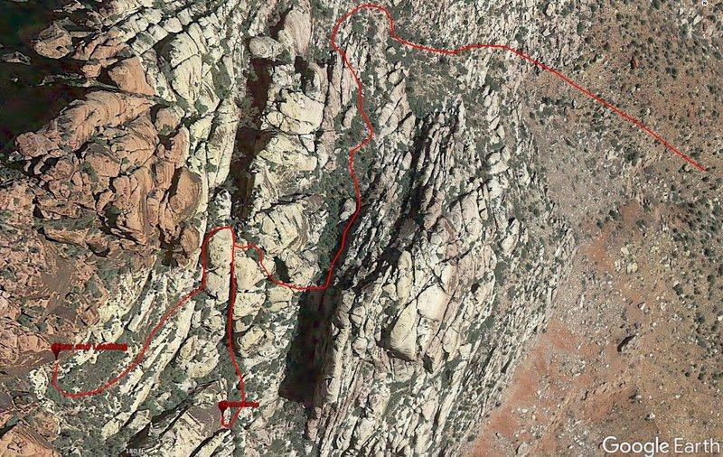 Rock Climbing Photo: Gemstone Approach