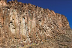 Rock Climbing Photo: 1 - Xibalba 2 - Gopher Broke 3 - Sol Man 4 - Pale ...