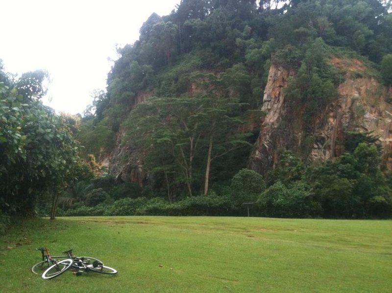 Finally found the climbing! Drop bikes grab gear