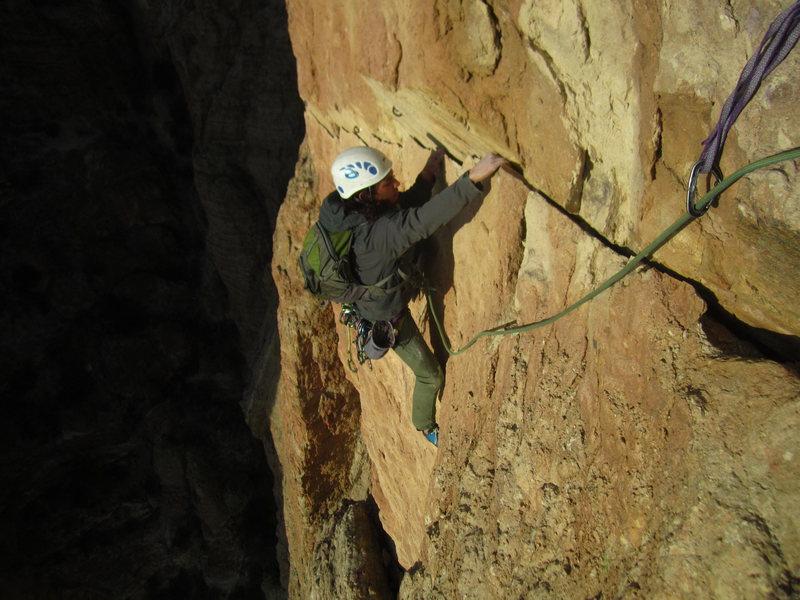 finishing the traverse