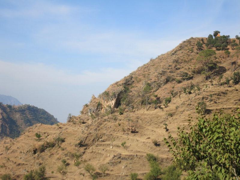 Rock Climbing Photo: Crag as seen from Khanda