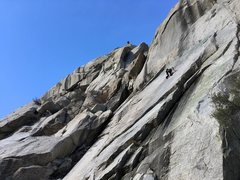 Rock Climbing Photo: Excellent slab just to the right of Kermits