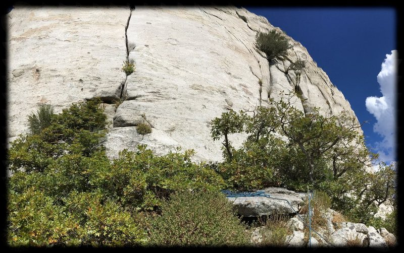 Rock Climbing Photo: Excellent place to escape the crowds...because the...
