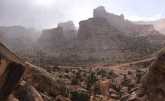 Rock Climbing Photo: Scenic picture looking right at Chocolate Wall.  P...