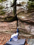 Rock Climbing Photo: What am I about to get myself into...