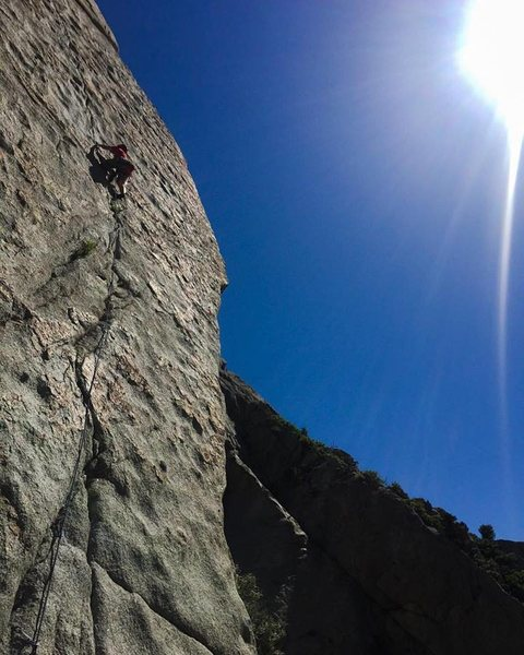 Rock Climbing Photo: Scenic photo of The Coffin