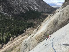 Rock Climbing Photo: Excellent slab you wish could just go on forever
