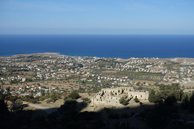 Rock Climbing Photo: Monastery as viewed from Karşıyaka (Vasilya)