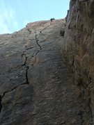 Rock Climbing Photo: Stereotypical picture of the monster