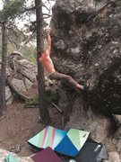 Rock Climbing Photo: Johnny boy sends this great problem