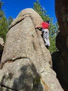 Rock Climbing Photo: Fun warm up