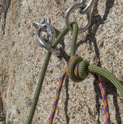 Rock Climbing Photo: Barrel Knot - works just like a flat overhand, but...