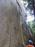 Rock Climbing Photo: extremely technical climb with variety of moves, h...
