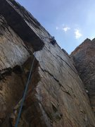 Rock Climbing Photo: stereotypical shot of Goodros
