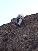 Rock Climbing Photo: Finishing on the huge holds