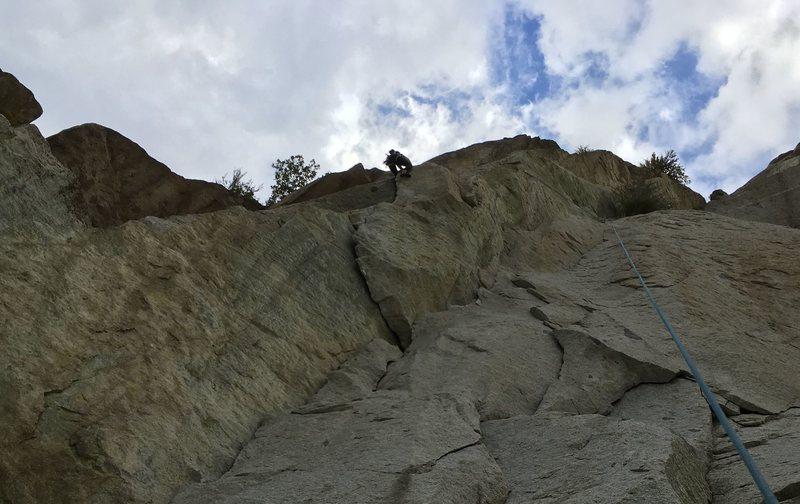 Rock Climbing Photo: butt shot on Gordon's