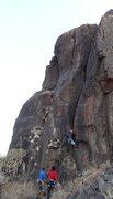 Rock Climbing Photo: Samiran climbing Kalavantini