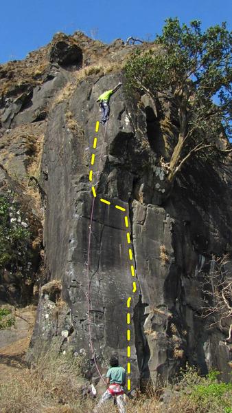Rock Climbing Photo: Da Vinci