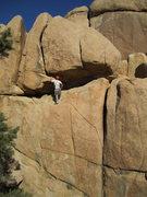 Rock Climbing Photo: Deciphering the roof