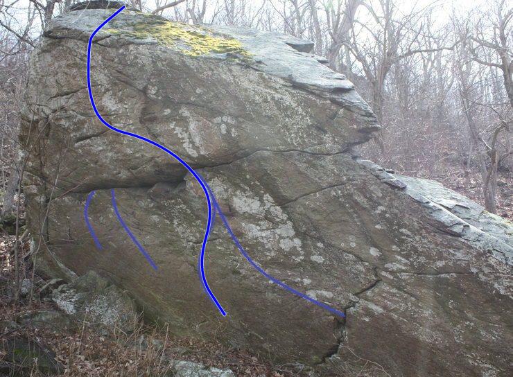 Roadside boulder or 12.2 boulder