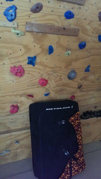 Rock Climbing Photo: Pad