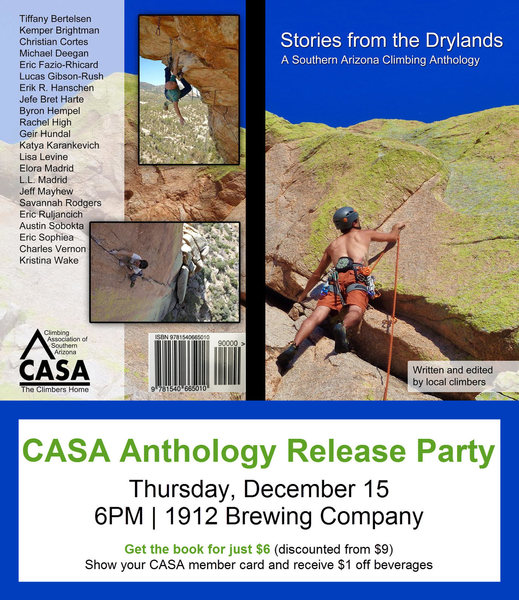 Stories from the Drylands:  A Southern Arizona Climbing Anthology