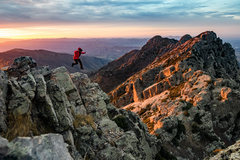 Rock Climbing Photo: Excellent sunrises on this climb, if you're wi...