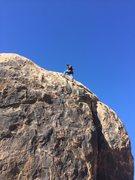 Rock Climbing Photo: Cool climb at Fairview Mountain