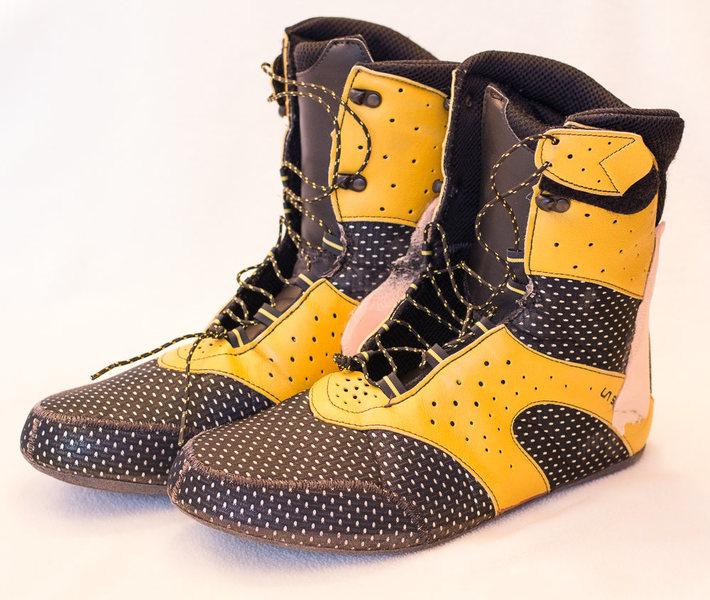 Rock Climbing Photo: Inner boots