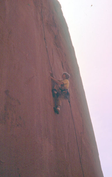 Rock Climbing Photo: A pic from the FA