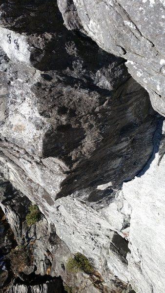 Rock Climbing Photo: SOS corner.