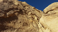 Rock Climbing Photo: Crux out of view.