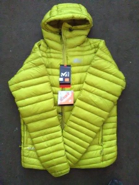 Millet jacket with the tags still on it