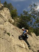 Rock Climbing Photo: Jen thinkin' of Mimi...