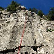 Rock Climbing Photo: Žajfa top out.