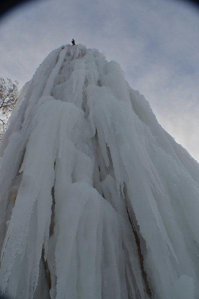 Rock Climbing Photo: Fat ice!